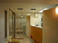 診療所例1天井